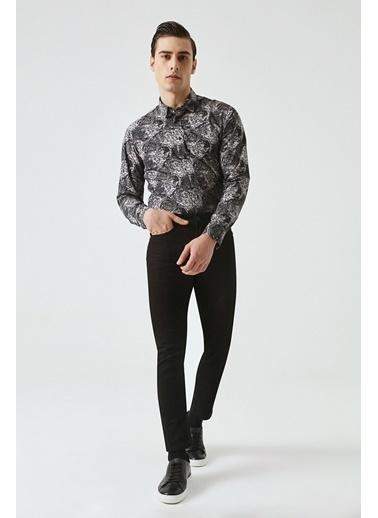 Tween Super Slim Fit Chino Pantolon Siyah